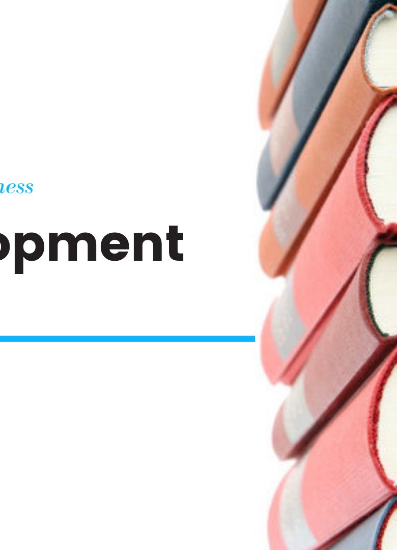 Self Development Book